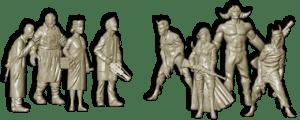 Malifaux Starter Set Models