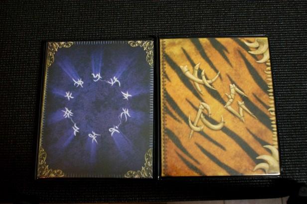 De twee spellbooks.