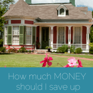 How Much Money Should I Save Up For A House?