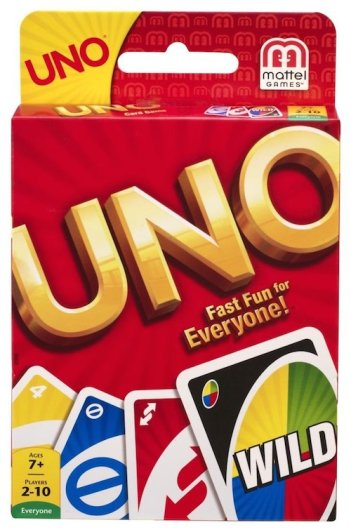 gifts under ten dollars - uno card game