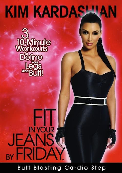 kim kardashian workout butt blasting cardio step