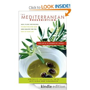 ikarian diet books - mediterranean prescription