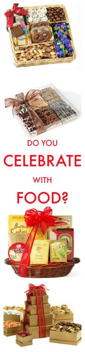 do you celebrate with food