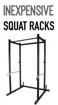 where to buy inexpensive squat racks