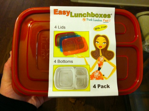 Easy lunchbox system