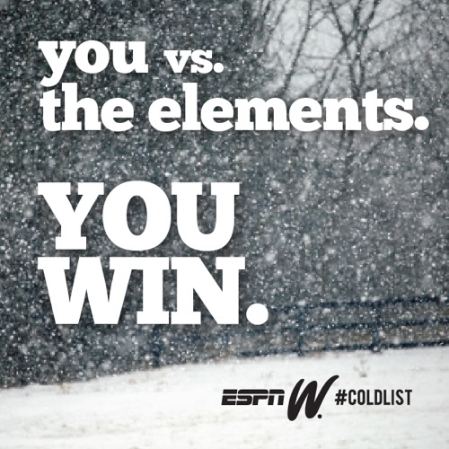 Espn elements cold motivation