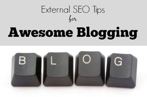 external SEO tips for blogging
