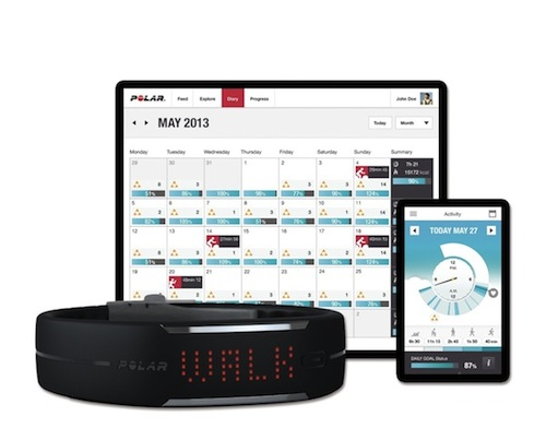polar loop activity tracker review with tech