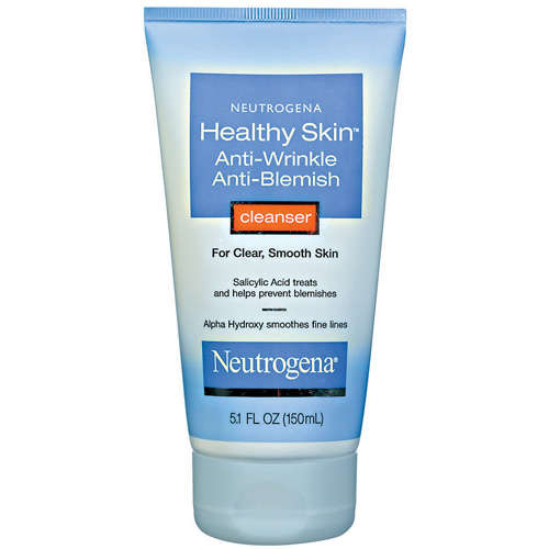neutrogena anti wrinkle cleanser