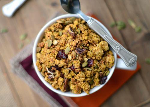 pumpkin maple granola
