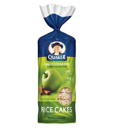 apple cinnamon rice cakes