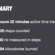 Weekend Step Counts