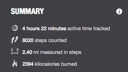 steps count sunday