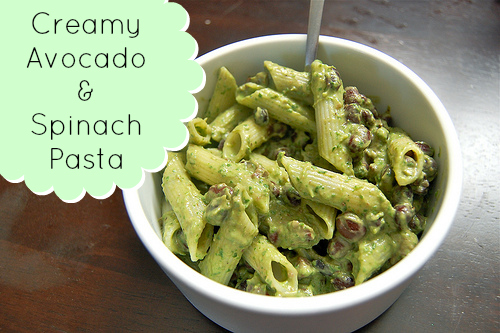 avocado-and-spinach-pasta-recipe