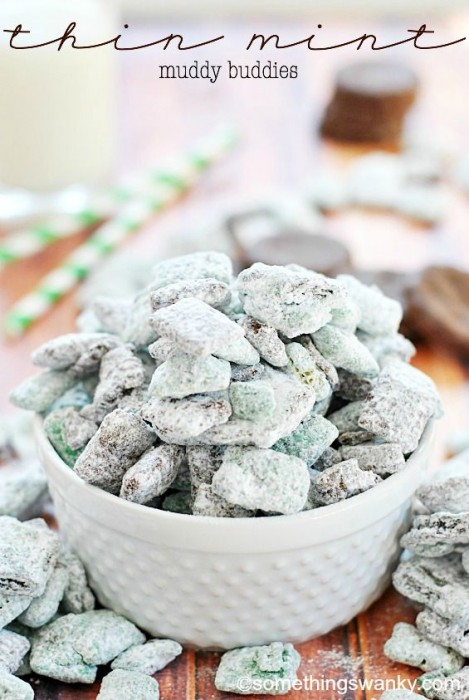 thin mint muddy buddies puppy chow