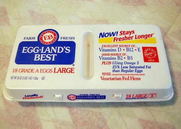 grocery haul - eggs