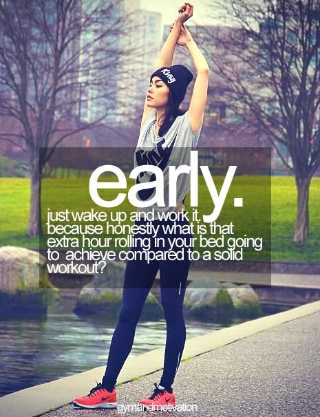 gym motivation for morning workouts