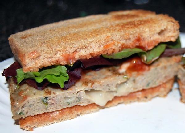 kale mozzarella chicken burger by amylu review sandwich