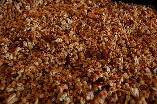 healthy recipe - nutty granola recipe