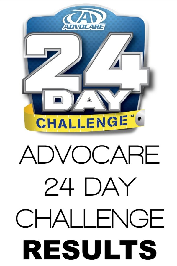advocare 24 day challenge results