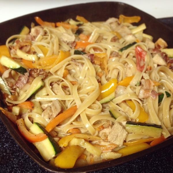 Cajun Chicken Pasta Recipe -- amerrylife.com