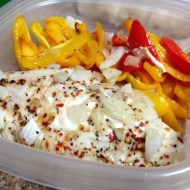 Chicken with Sweet Peppers & Onions