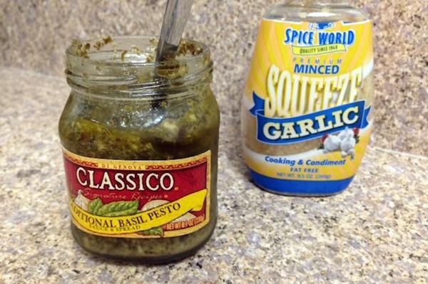 Garlic Pesto Green Bean Chicken Pasta recipe - amerrylife.com
