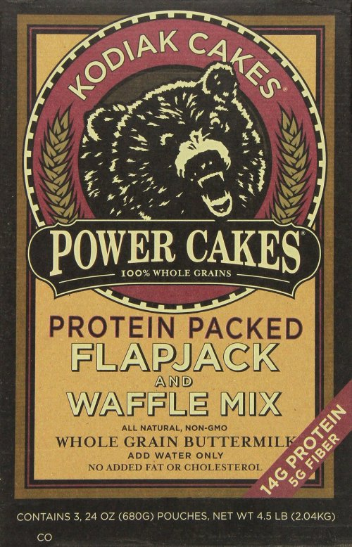 Kodiak Cakes Power Cakes- Flapjack and Waffle Mix Whole Grain Buttermilk