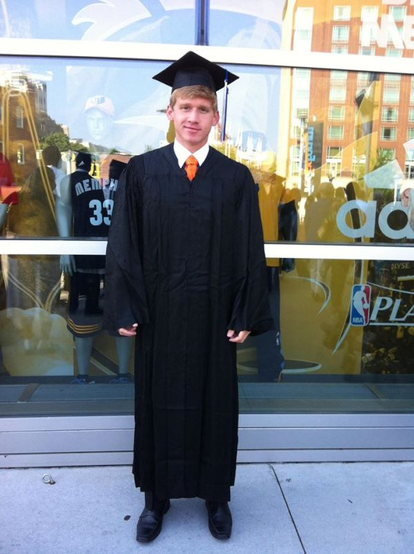 charles graduation yay