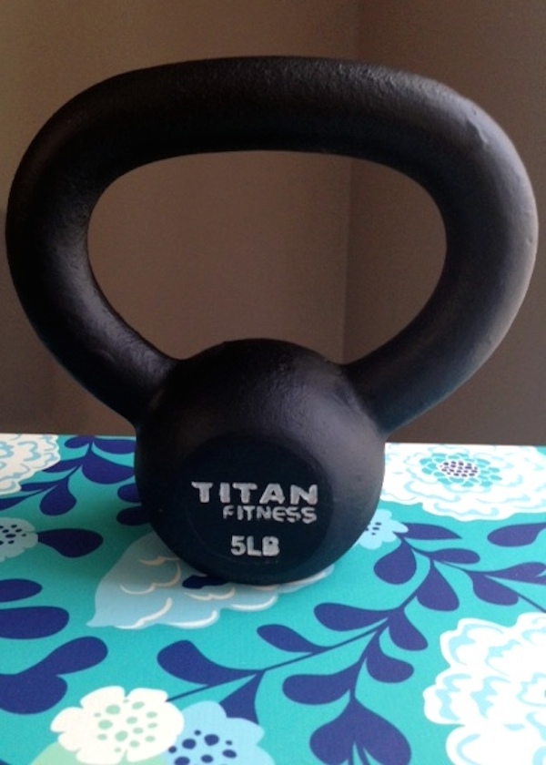 kettlebell from titan fitness in memphis