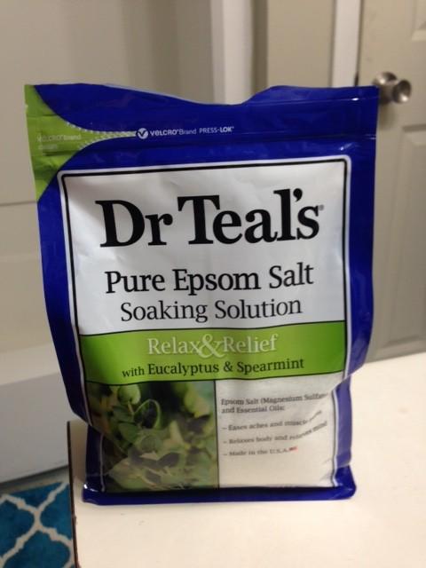 epsom salt bath salt for anxiety relief