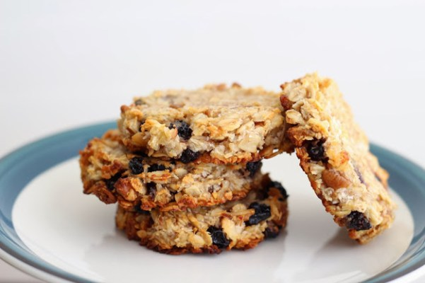 Blueberry, Coconut, and Pecan Breakfast Cookies