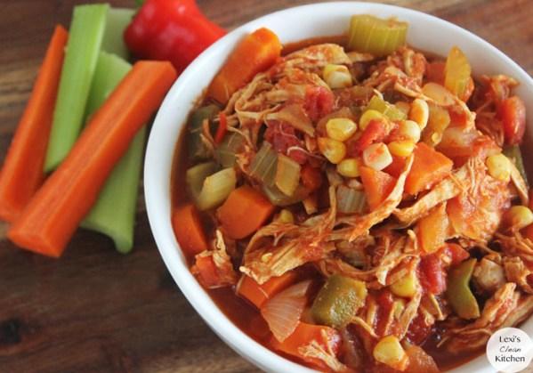 Buffalo Chicken Chili Recipe by Lexi's Clean Kitchen