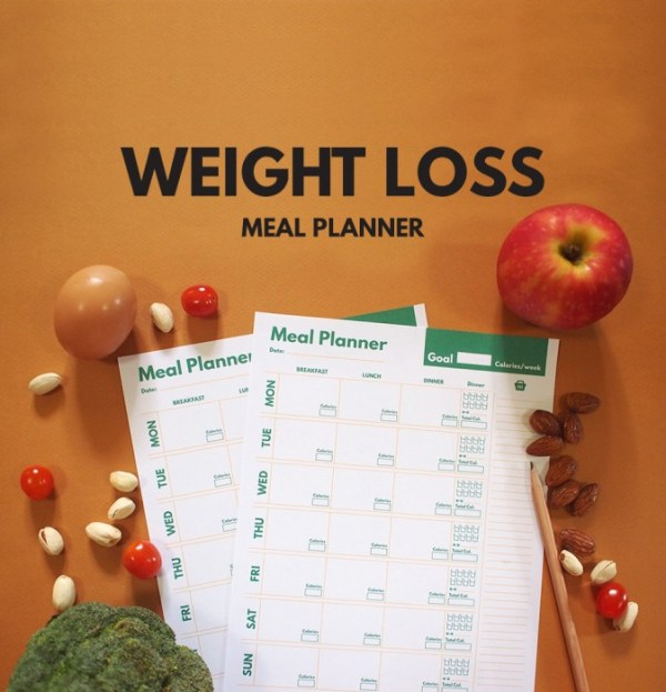 weight loss meal planner