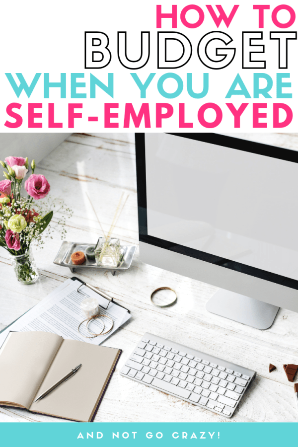 how to budget when self employed