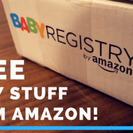 How To Get FREE Baby Stuff With Amazon Baby Registry