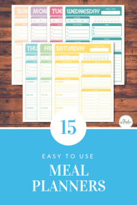 15 meal planner ideas to make meal planning easy