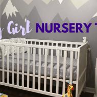 Penny's Baby Girl Nursery Tour