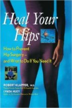 gift ideas for people who had hip surgery - books about healing hips