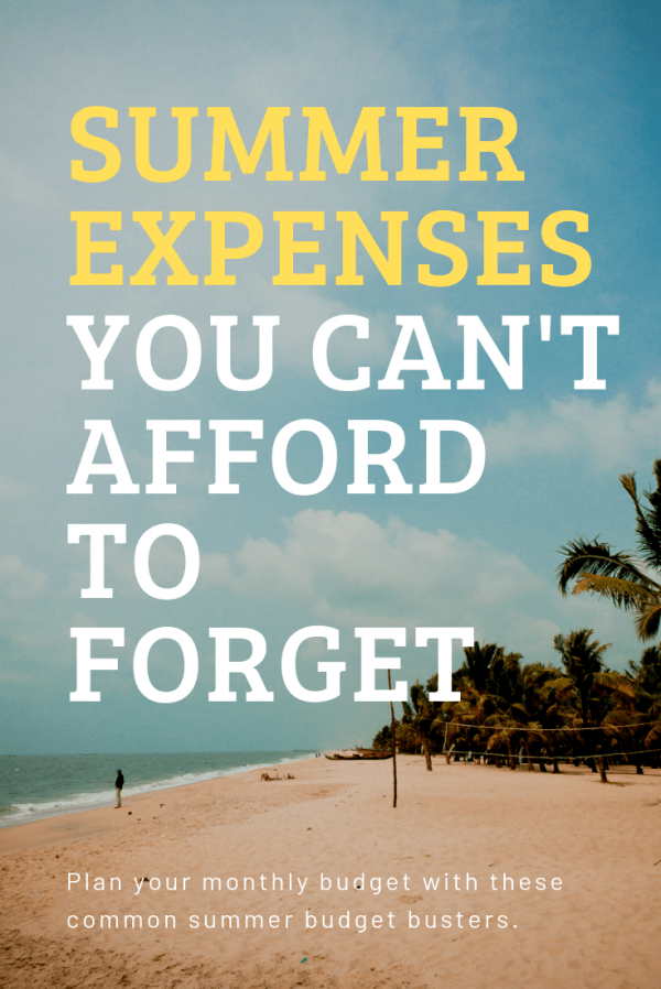 save your summer budget with these expense