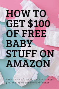 free baby stuff on amazon
