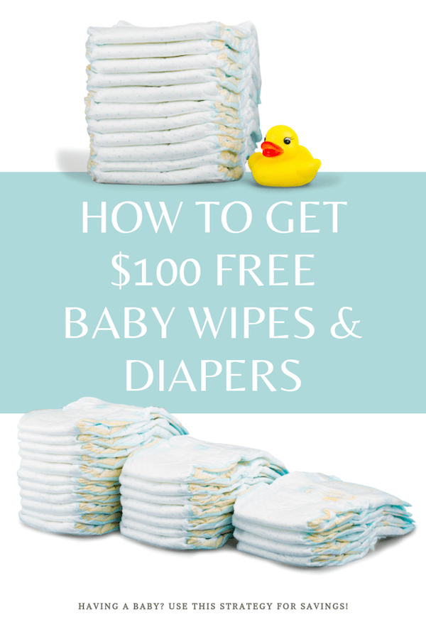 how to get free baby wipes and diapers