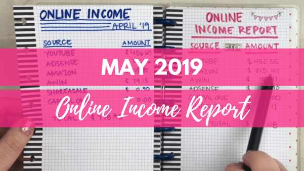 may 2019 online income report