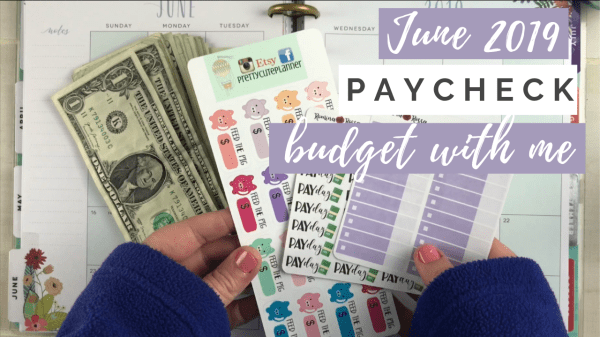 paycheck to paycheck budget with me
