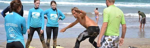 Surfování na Lanzarote s AMERS.CZ