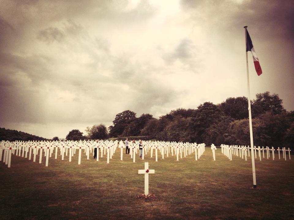 WW1 Field of rememberance dedication 2