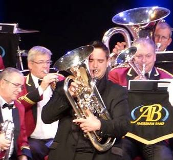 Euphonium Star David Childs wows Audience