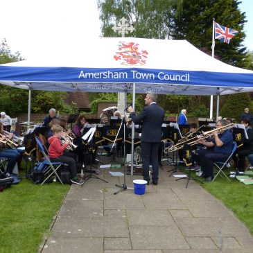 We're Back – with a Festival of Brass