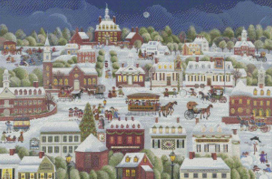 Americana Cross Stitch Carol Dyer Three New Sets Of