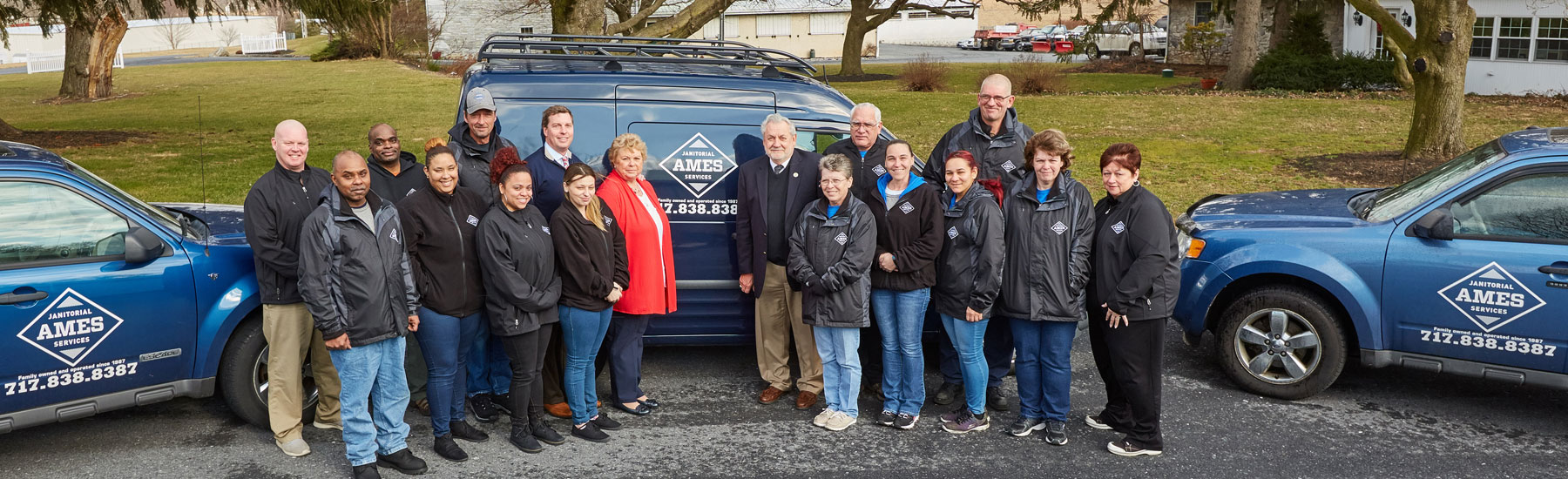 Ames Janitorial Services team_Central PA